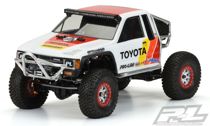 Pro-Line 1985 Toyota HiLux SR5 Clear Body - RC Car Action