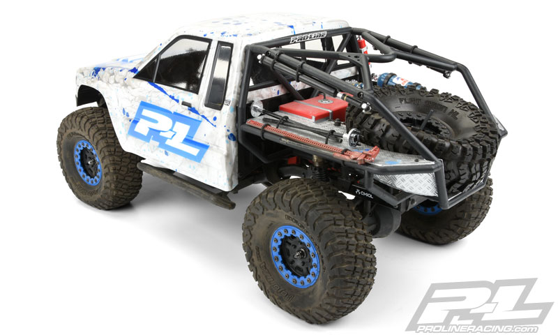 Pro-Line 1985 Toyota HiLux SR5 Clear Body (7)