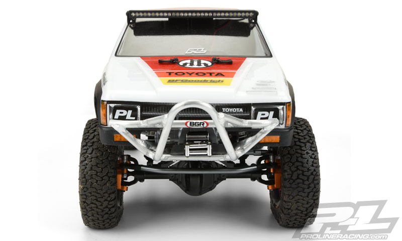 Pro-Line 1985 Toyota HiLux SR5 Clear Body (8)