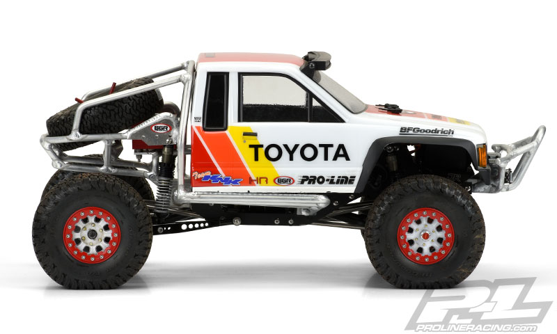 Pro-Line 1985 Toyota HiLux SR5 Clear Body (9)