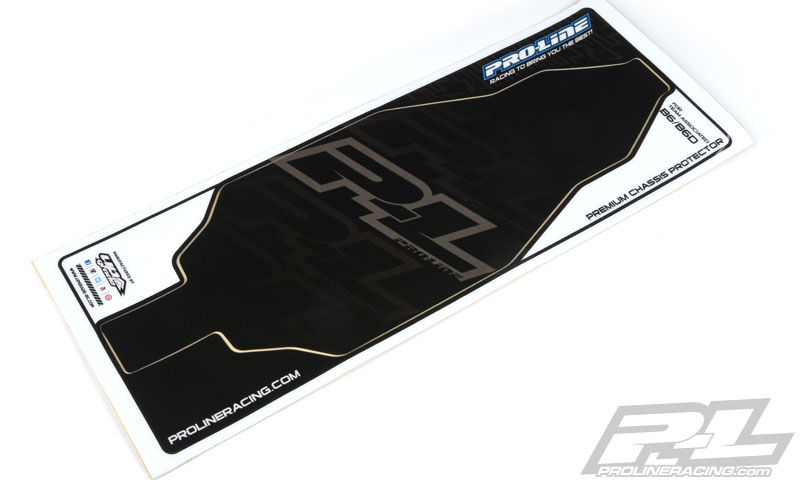 Pro-Line Black Chassis Protector For AE B6 & B6D (1)