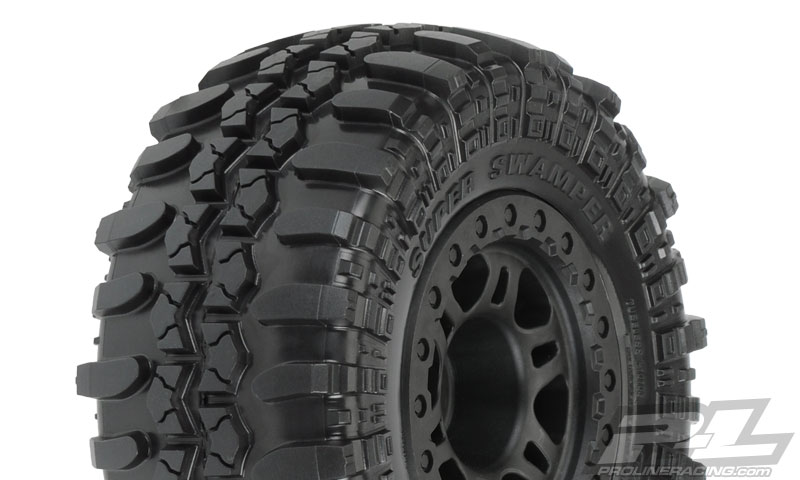 Pro-Line Interco TSL SX Super Swamper SC Pre-Mount Tires (3)