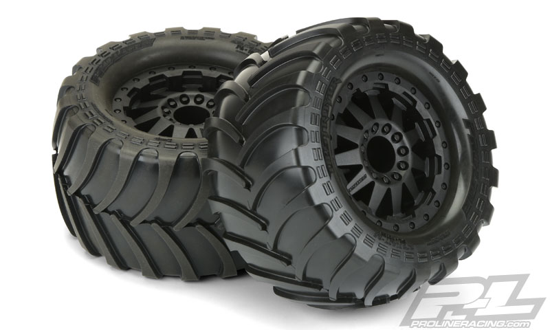Pro-Line Pre-Mounted Destroyer 2.8 All Terrain Tires (1)