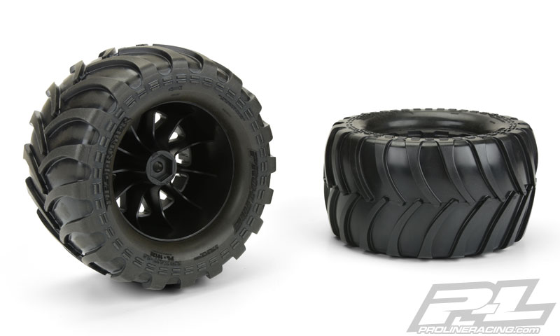 Pro-Line Pre-Mounted Destroyer 2.8 All Terrain Tires (2)