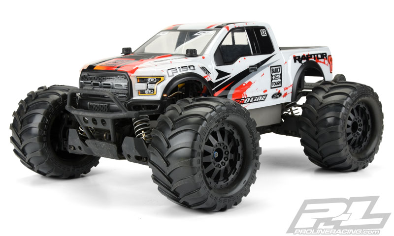 Pro-Line Pre-Mounted Destroyer 2.8 All Terrain Tires (3)