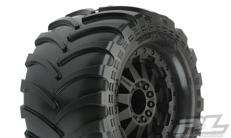 Pro-Line Pre-Mounted Destroyer 2.8 All Terrain Tires (4)