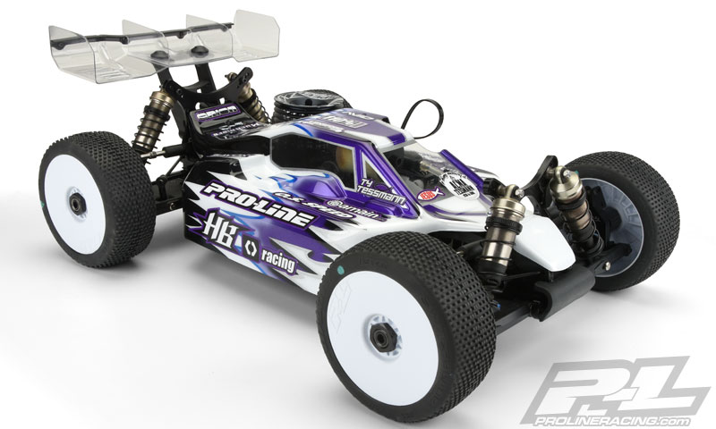 Pro-Line Predator Clear Body For The HB D815 (1)