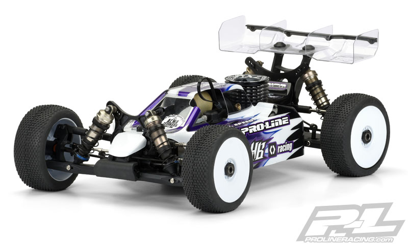 Pro-Line Predator Clear Body For The HB D815 (3)