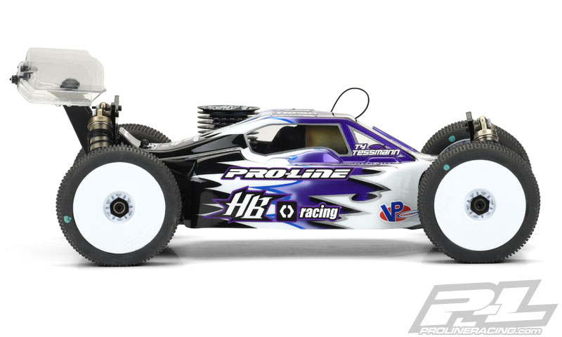 Pro-Line Predator Clear Body For The HB D815 (4)
