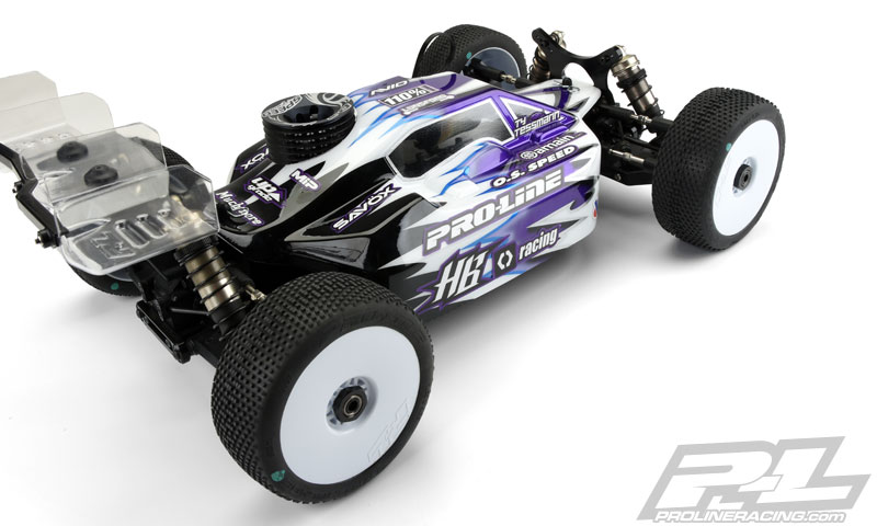 Pro-Line Predator Clear Body For The HB D815 (5)