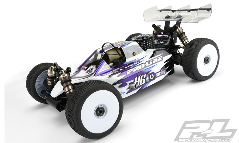 Pro-Line Predator Clear Body For The HB D815 (6)