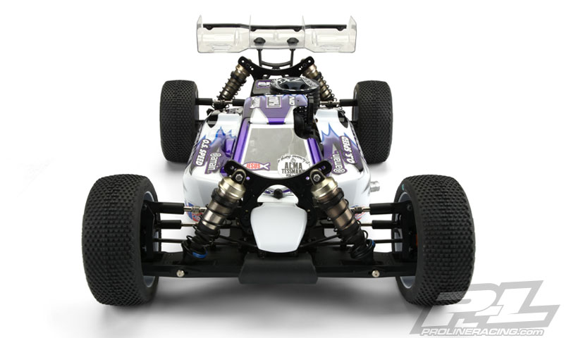 Pro-Line Predator Clear Body For The HB D815 (8)
