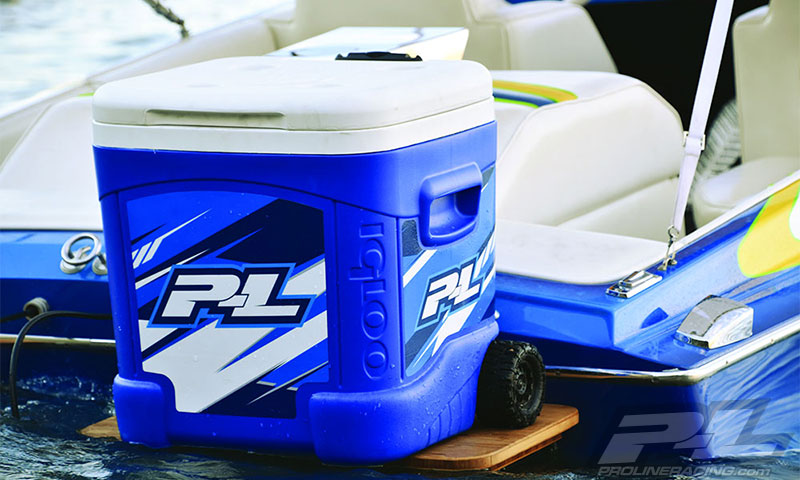 Pro-Line Team Cooler Wrap For Igloo 60qt. Cooler (3)