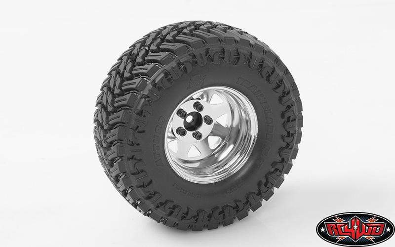 RC4WD 5 Lug Deep Dish Wagon 1.9 Beadlock Wheels (4)