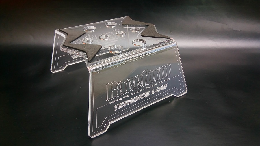 Raceform Evolver Car Stand With Customized Laser Engraved Name (3)