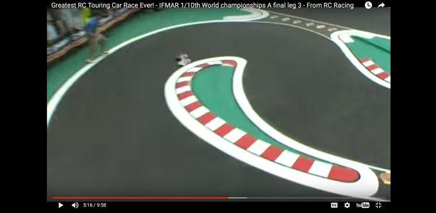 Flashback: Best Battle Ever?  Hara and Rheinard in Classic 2008 IFMAR Worlds Race [VIDEO]