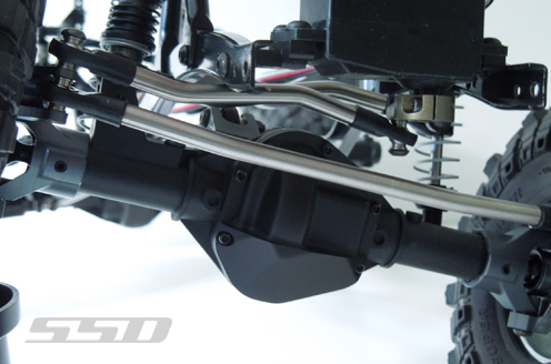 SSD D60 Chassis Mounted Servo Kit For The Axial SCX10 (10)
