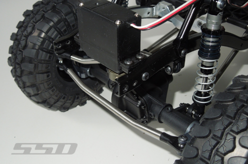 SSD D60 Chassis Mounted Servo Kit For The Axial SCX10 (5)