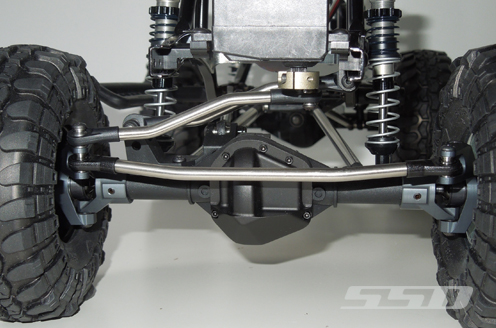 SSD D60 Chassis Mounted Servo Kit For The Axial SCX10 (6)