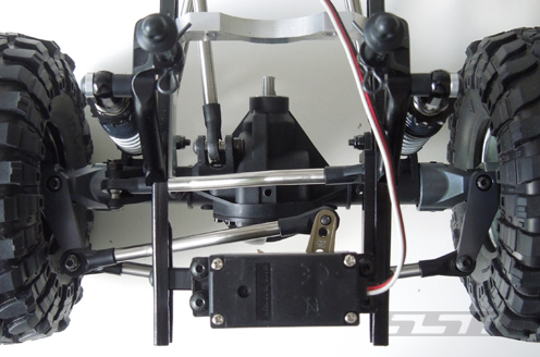 SSD D60 Chassis Mounted Servo Kit For The Axial SCX10 (7)