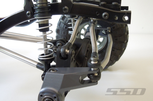 SSD D60 Chassis Mounted Servo Kit For The Axial SCX10 (8)