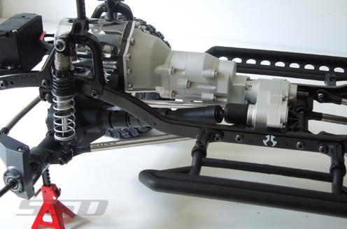 SSD Scale Transmission Kit For The Axial SCX10 (5)