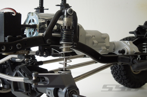 SSD Scale Transmission Kit For The Axial SCX10 (8)