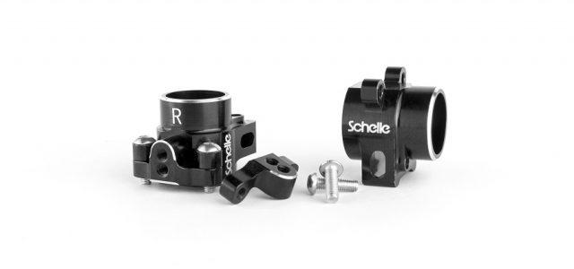 Schelle Aluminum Rear Hub Set For The AE B6 & B6D