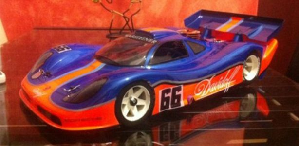 Delta Plastik Porsche GTR Speed Run Body