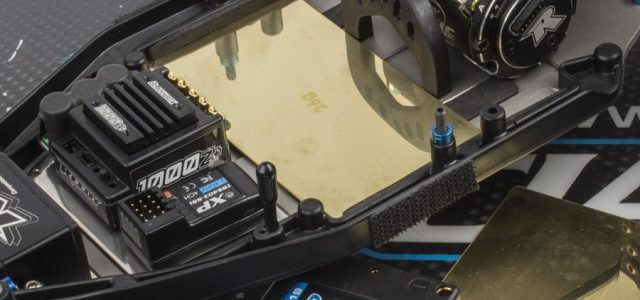 Team Associated B6 Brass Under Battery Weights