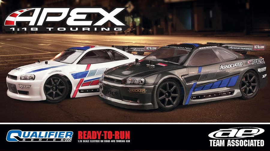 Team Associated RTR Apex 1_18 Touring Cars (2)