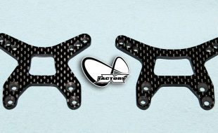 X Factory Infinity Carbon Fiber Shock Towers For B6 & B6D