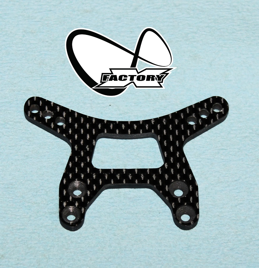 X Factory Infinity Carbon Fiber Shock Towers For B6 & B6D (4)