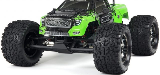 ARRMA Updates RTR Granite, Fury, & Raider For 2016