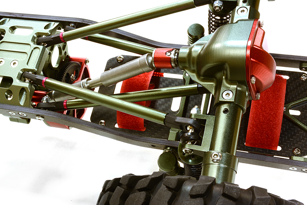 Integy Billet Machined 1/10 Size CF310 Trail Roller 4WD Off-Road Scale Crawler