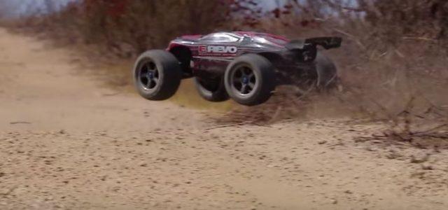 Desert Drama With The Traxxas E-Revo [VIDEO]