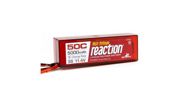 Dynamite RC High Voltage Reaction 50C LiPos