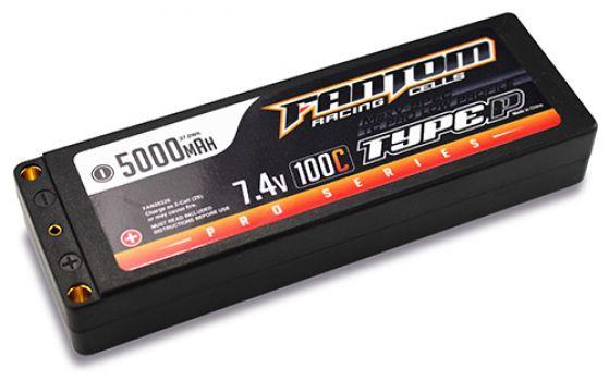 Fantom MaxV-SPEC Pro Series Low Profile 5000mah LiPo