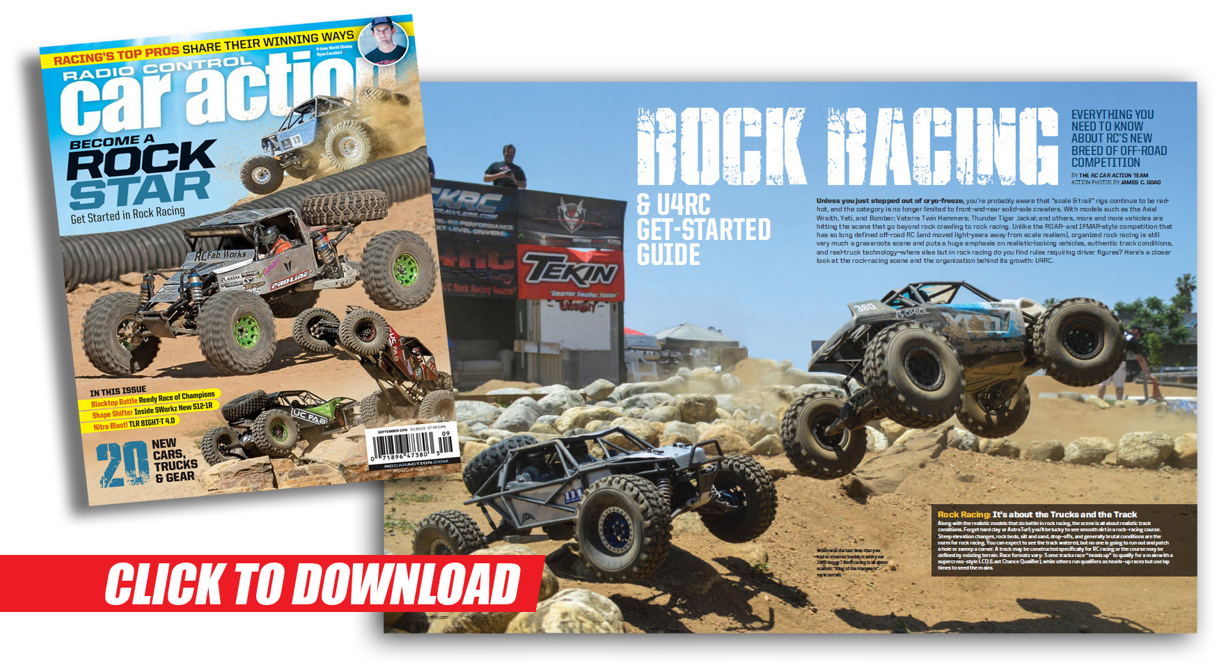 Get Started In Rock Racing