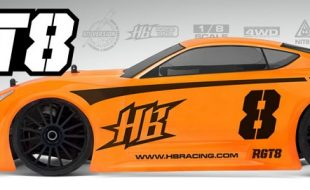 HB Racing RGT8 1/8 GT On-Road Race Kit