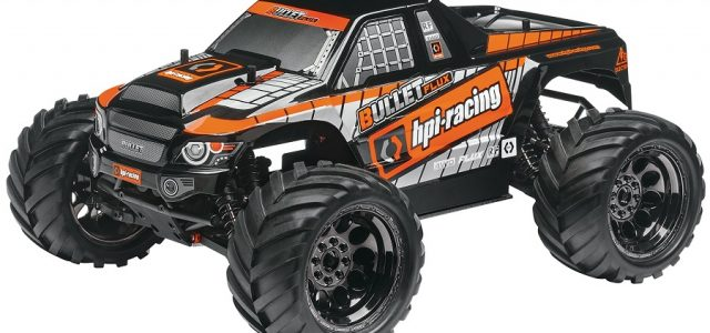 HPI RTR Bullet ST And MT Flux Brushless 4WD Trucks