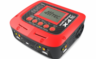 Hitec X4 AC Pro AC/DC Four Port Multicharger