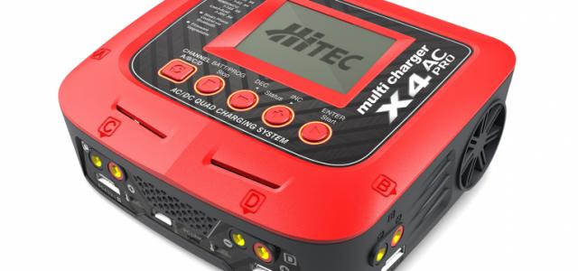 Hitec X4 AC Pro AC/DC Four Port Multicharger