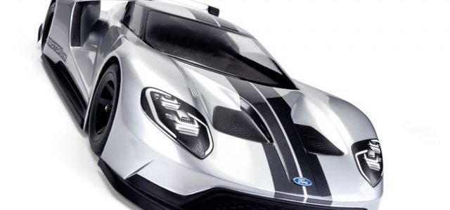 PROTOform Ford GT Clear Body For 200mm Pan Car