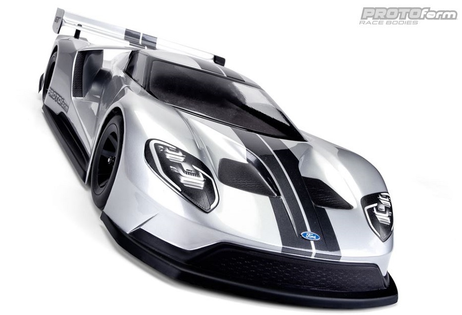 PROTOform Ford GT Clear Body For 200mm Pan Car (1a) (1)