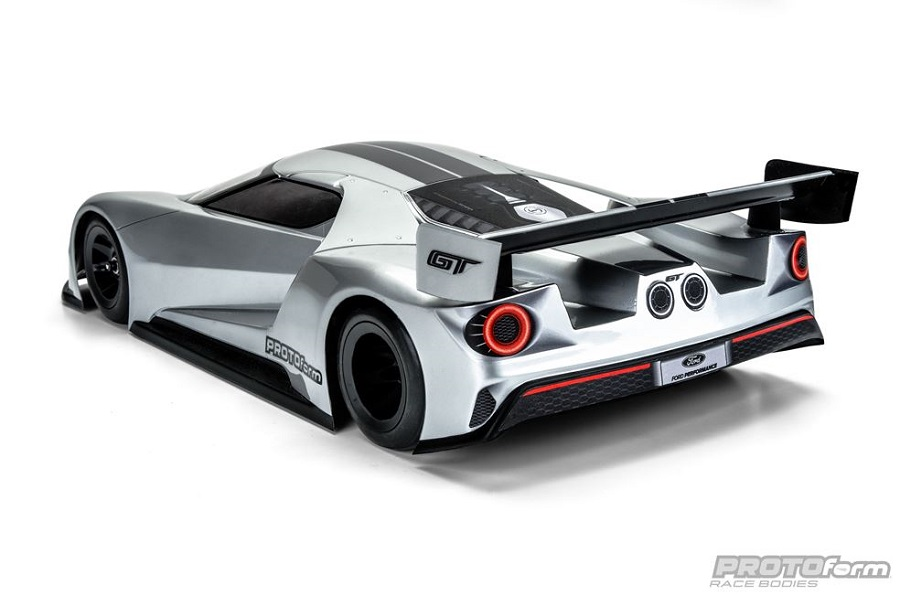 PROTOform Ford GT Clear Body For 200mm Pan Car (1a) (4)