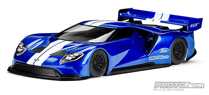 PROTOform Ford GT Clear Body For 200mm Pan Car (1a) (5)