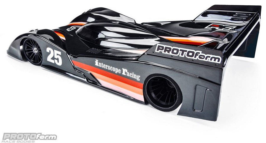 PROTOform Swift-235 Clear Body For 235mm Pan Car (1)