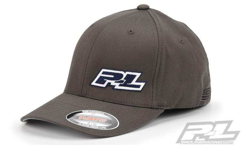pro-line-gray-flex-fit-hat-1