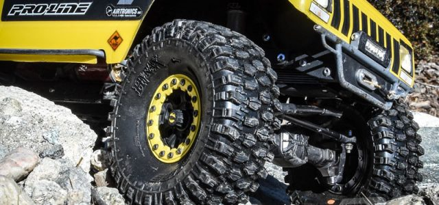 "Pro-Line Hyrax 1.9"" G8 Rock Terrain Truck Tires [VIDEO]"